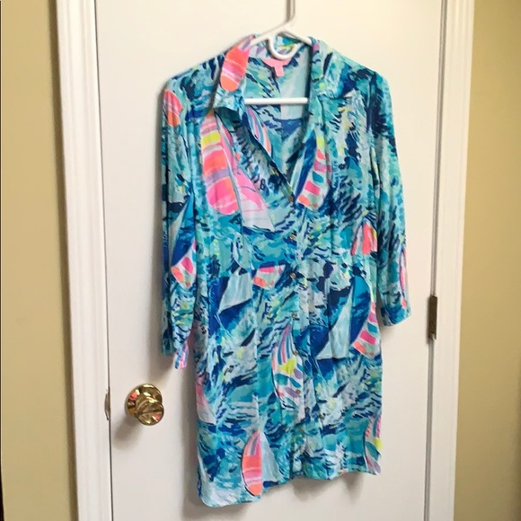 Lilly Pulitzer cover up size XS